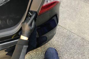 антигравийная защита авто